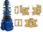 Szerszámok - Ablakgyártó marók - 68-78-as hőszigetelt ablakgyártó készlet