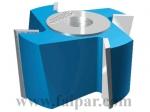 Szersz�mok - Falcmar�k - 112-03: Forrasztottlapk�s falcmar� d�nt�tt k�sekkel HM �s HSS kivitelben