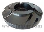 Szerszámok - Beltéri ajtógyártó marók, tokgyártó marók - 113-75: Váltólapkás íves tok gyártásához