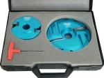 Szerszámok - Kontraprofil - keretösszeépítő marók - Kontraprofil és platolómaró készlet
