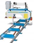 Gépek - Szalagfűrész gépek - HBB 550: Vízszintes szalagfűrészgép