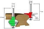 Szerszámok - Felsőmaró szárak - Korlátkészítő felsőmaró készlet